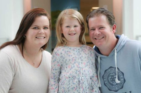 Sofia suffers from JIA and is a patient of The Children's Hospital at Westmead.